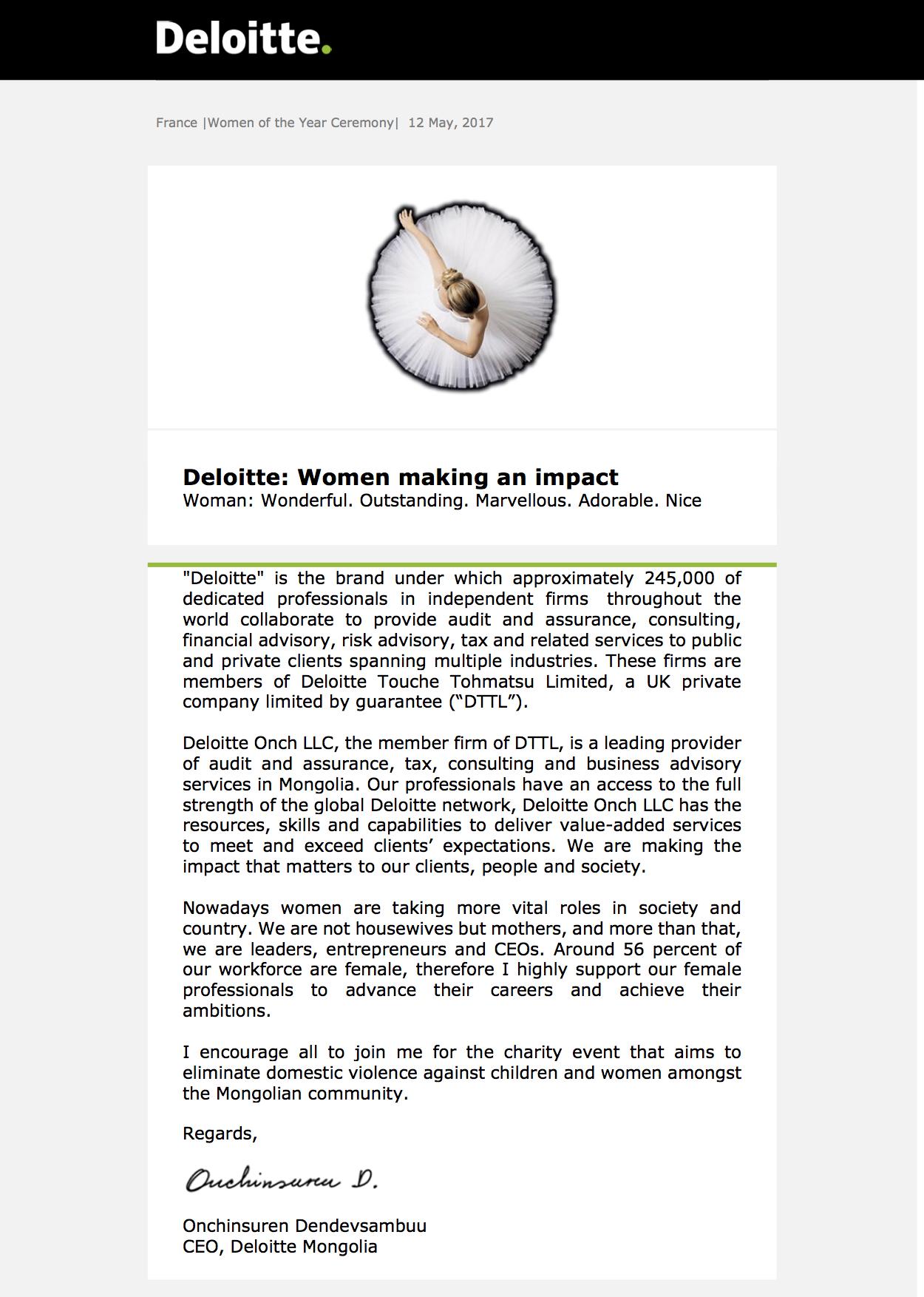 Women making an impact 5.12.17